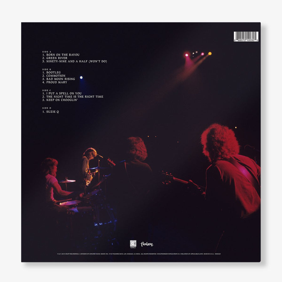 Creedence Clearwater Revival - Live at Woodstock (LP)