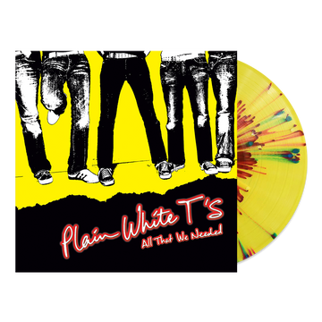 Plain White T's - All That We Needed (Yellow Splatter LP)