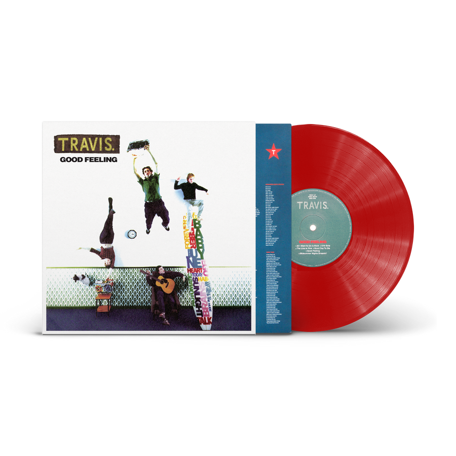 Travis - Good Feeling (Limited Red LP)