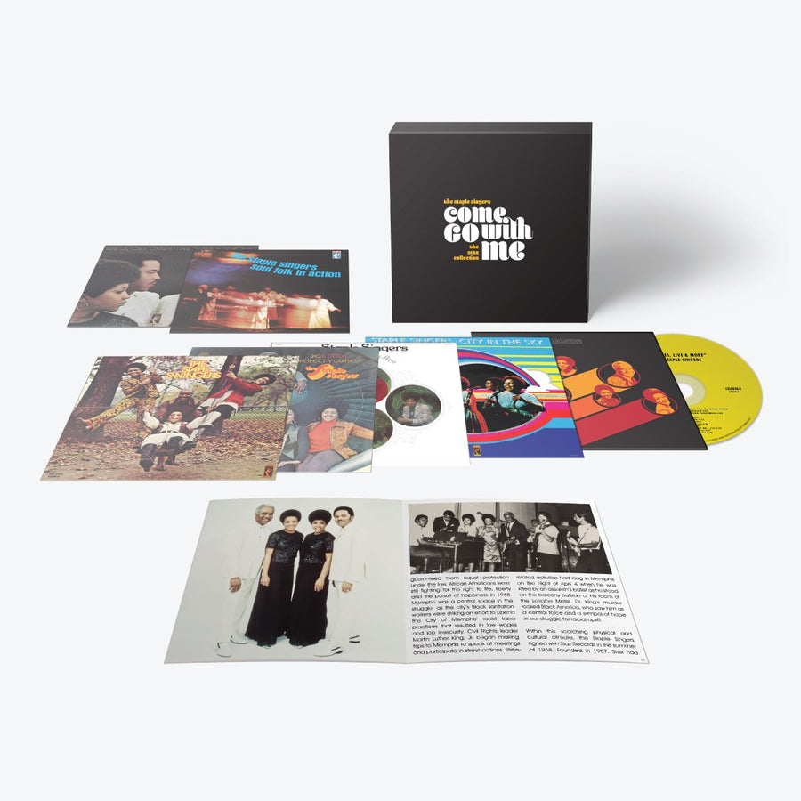 The Staple Singers - Come Go With Me: The Stax Collection (7-CD Set)
