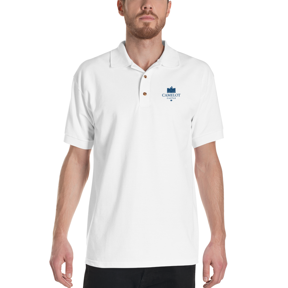 Camelot Castle Embroidered Polo Shirt