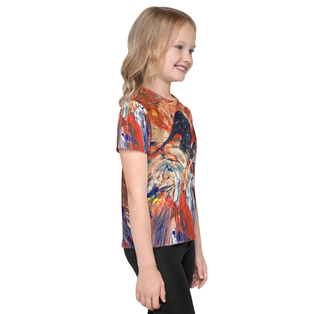 Peafowl Kids T-Shirt