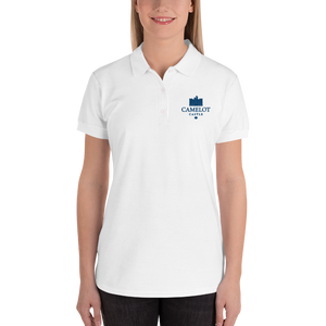 Camelot Castle Embroidered Women's Polo Shirt