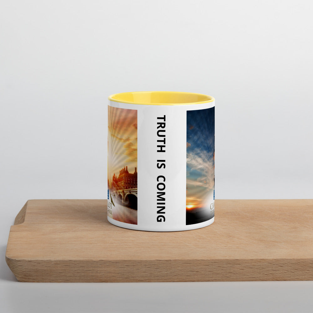 Camelot TV Mug with Color Inside