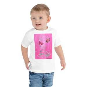 Butterfly Ted Stourton Toddler Short Sleeve Tee