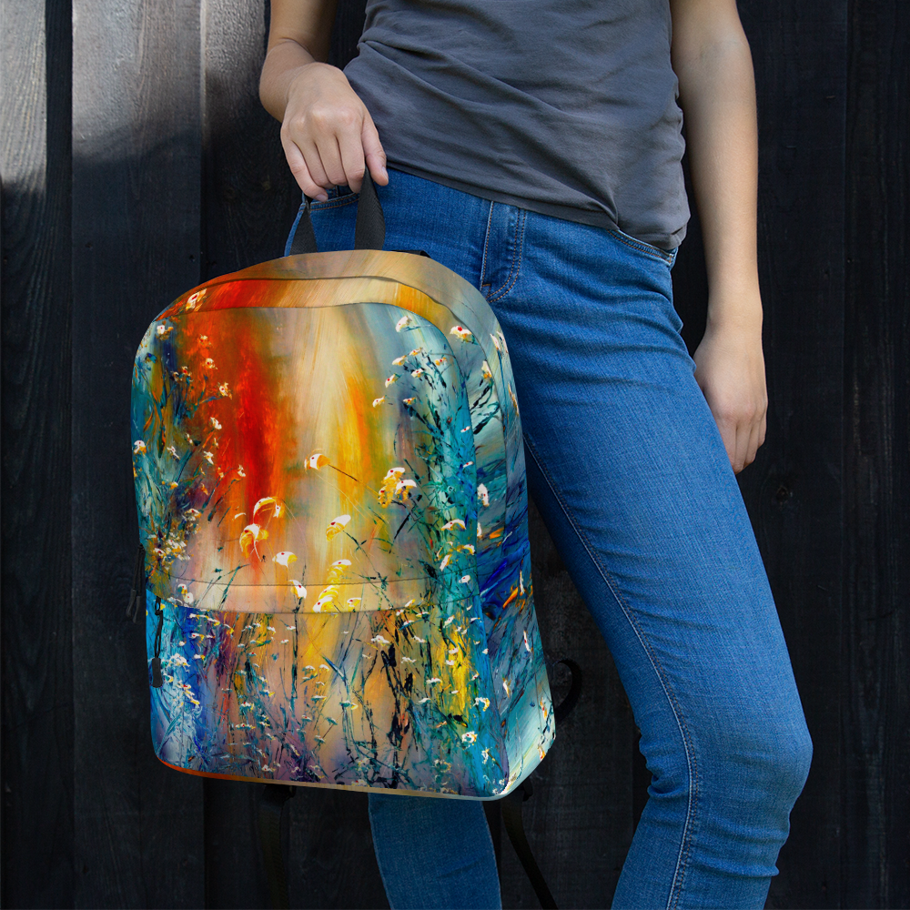 Ted Stourton Art Backpack