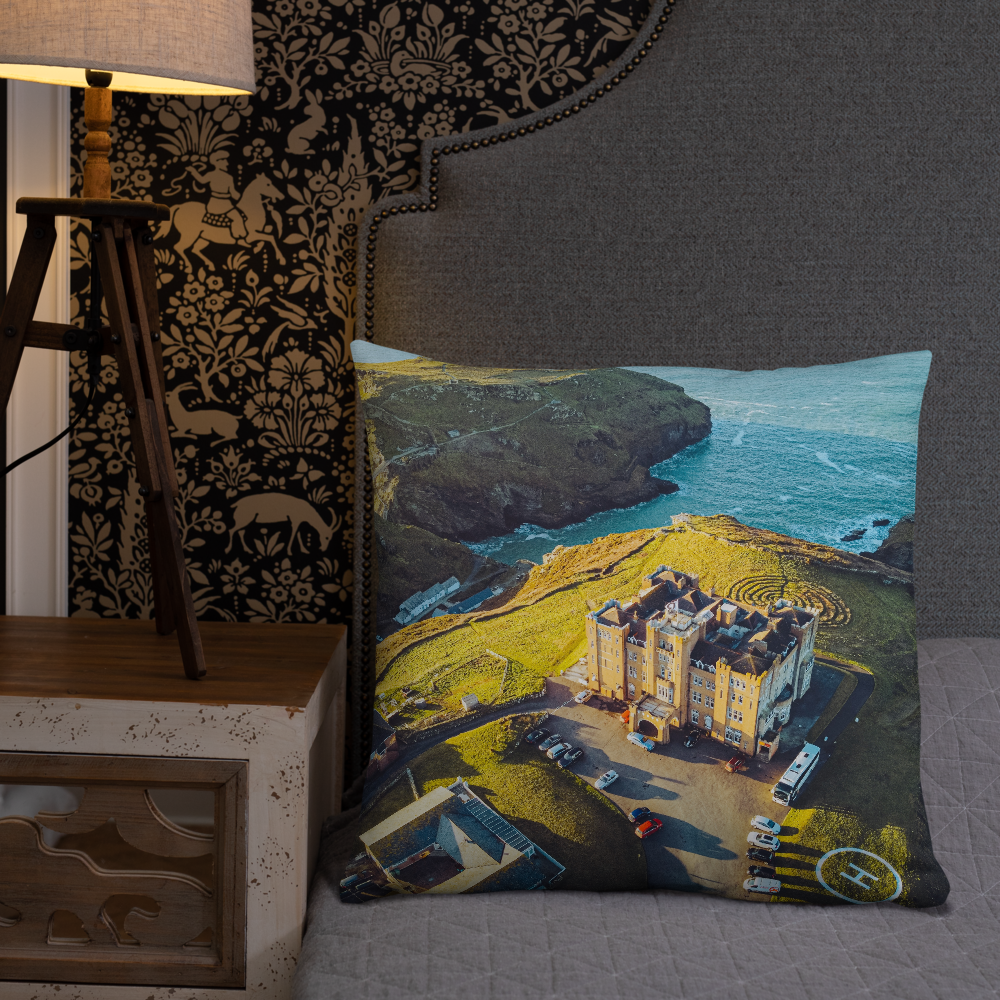 Camelot Castle Pillow
