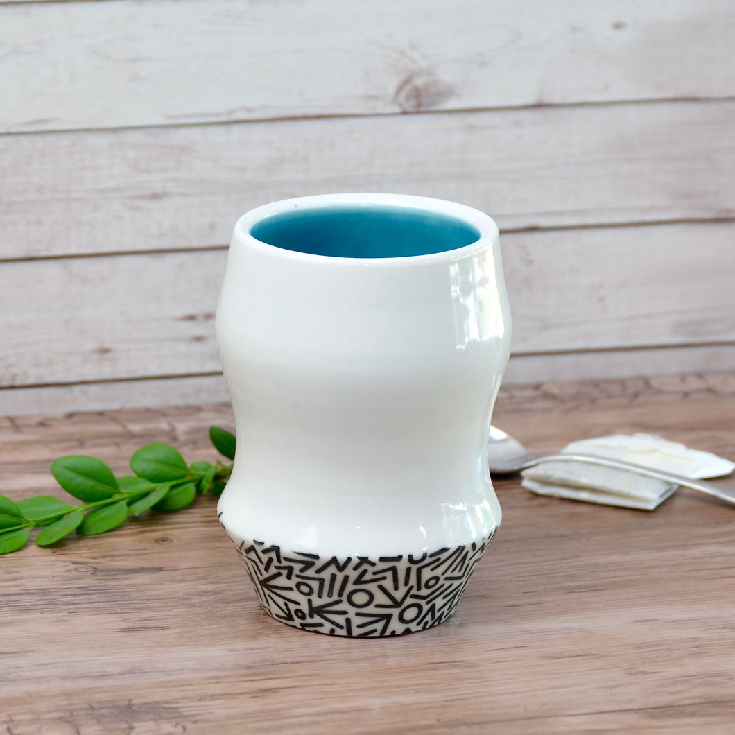 Blue Mod Cup | Limited Edition | Ready-to-Ship