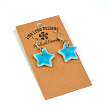 Load image into Gallery viewer, Porcelain Star Earrings | Read-to-Ship