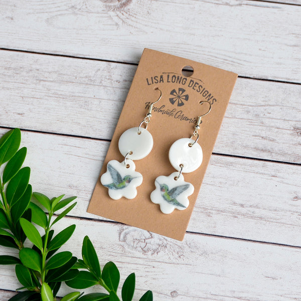 Hummingbird Earrings | Andrea Holmes | Ready-to-Ship