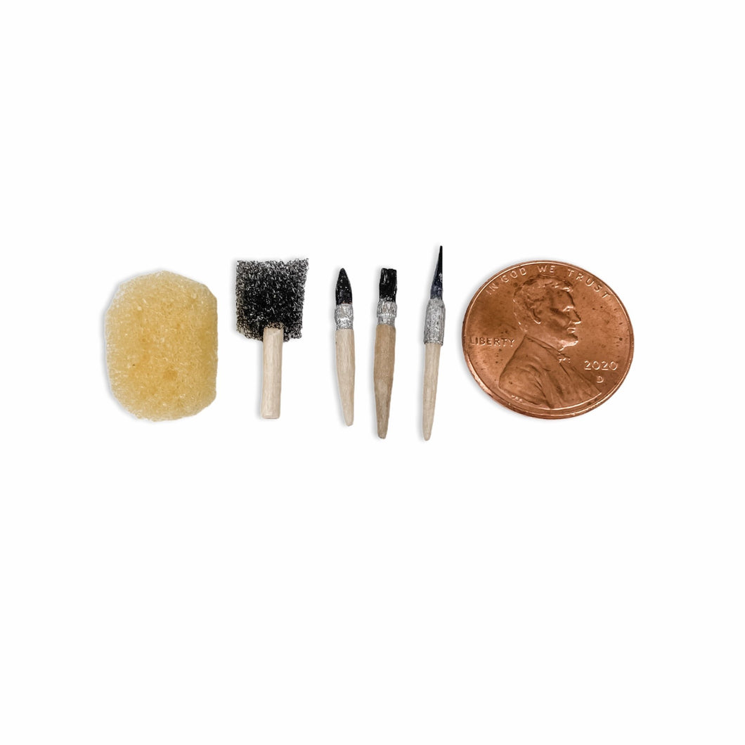 Tiny Paintbrush Set