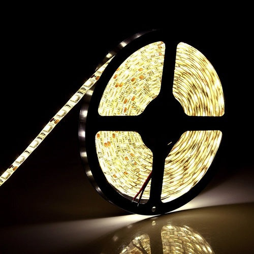 Banda LED alba 5m, pentru interior/ exterior, Relight RE02