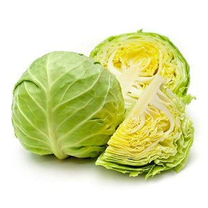 Locally Grown Green Cabbage