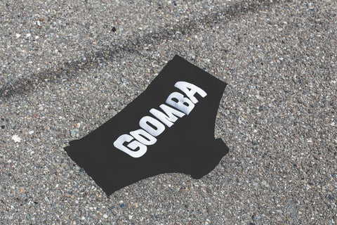 Goomba Black Panties
