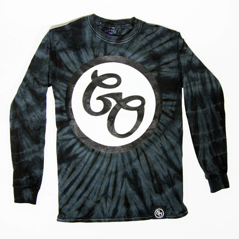 Goomba Original Grey Tie Dye Long Sleeve