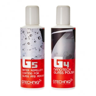 Gtechniq G5 and G4 Max Repellency Glass Kit 100ml