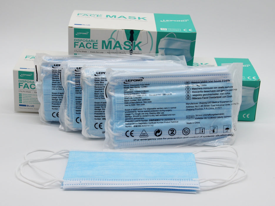 Premium Disposable Face Mask