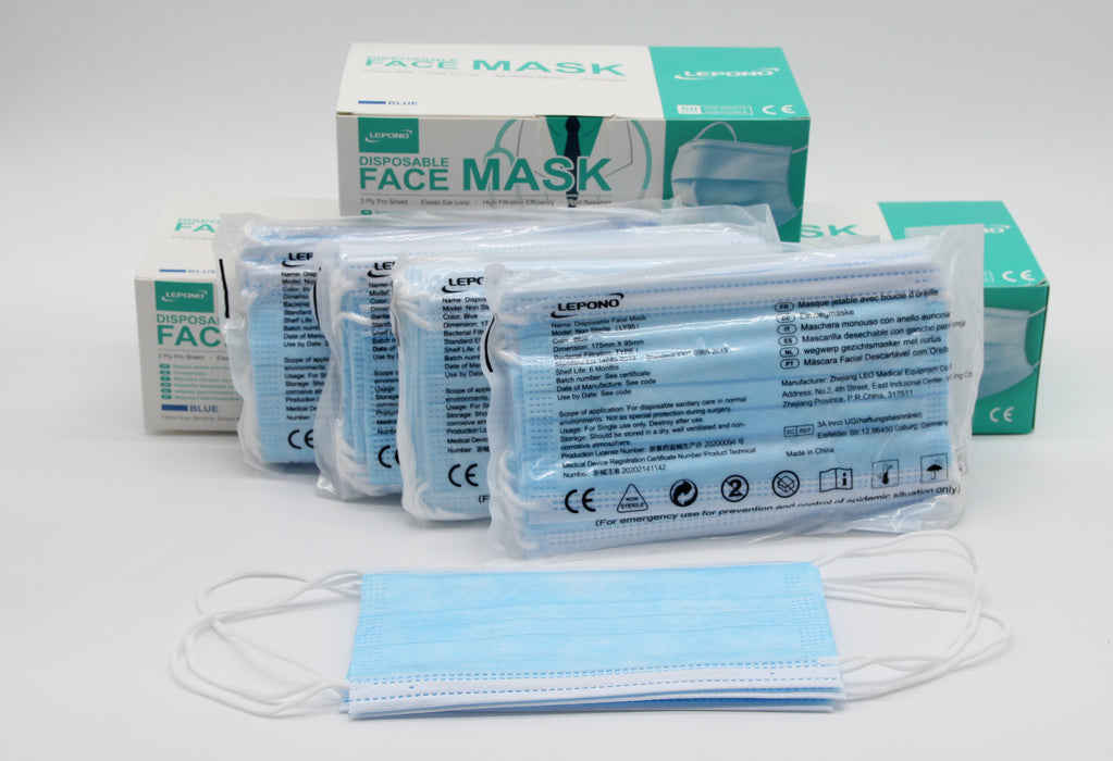 Premium Disposable Face Mask Qty 10