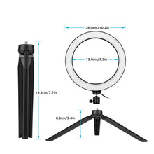 Load image into Gallery viewer, 10 Inch LED Ring Light