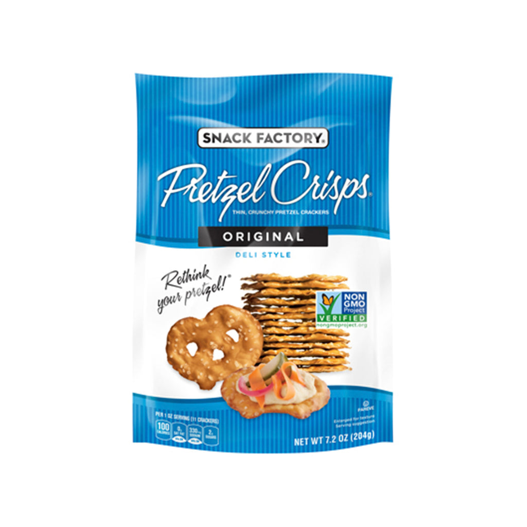 Snack Factory Pretzel Chips Original