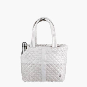 Wingwoman Tote - Champagne Color Block