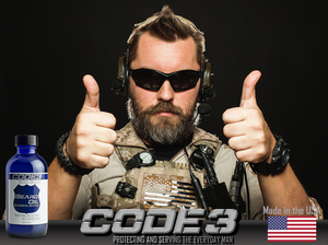 CODE 3 the Best Beard Oil made in the USA