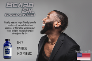 CODE 3 Beard Oil for African American Men