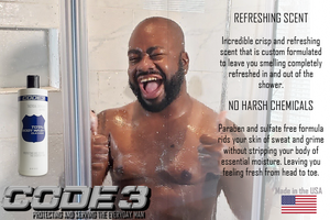 CODE 3 Total Body Wash for African American Men