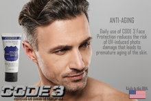 Load image into Gallery viewer, CODE 3 SPF Face Protection Moisturizer for  Handsome Men