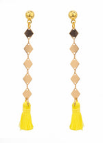 Diaz Linear Drop Earrings