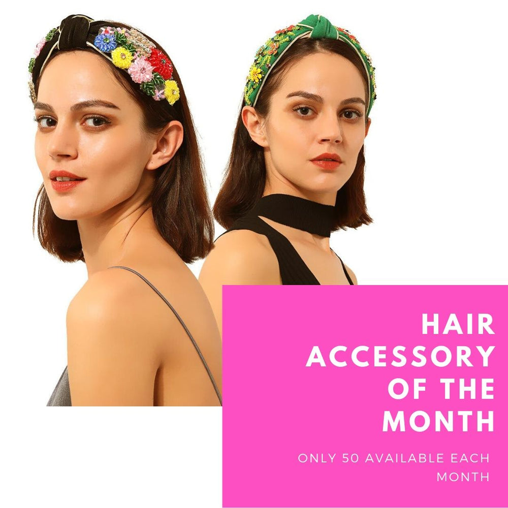 Hair Accessory of the Month Club
