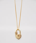 Abbey Locket Necklace
