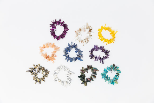Gem Spike Stretch Bracelets