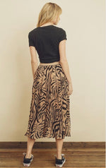 Tiger Queen Midi Skirt