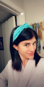 Pearla Mint Headband