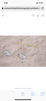 Waterside Hoop Earrings