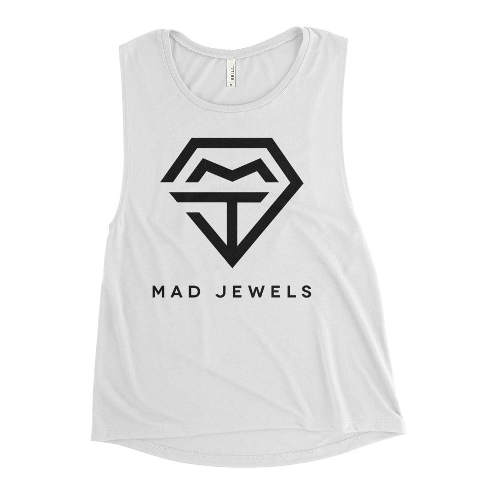 Mad Jewels Logo Muscle Tee