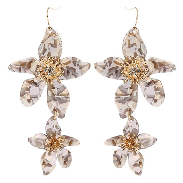 Sicily Floral Drop Earrings