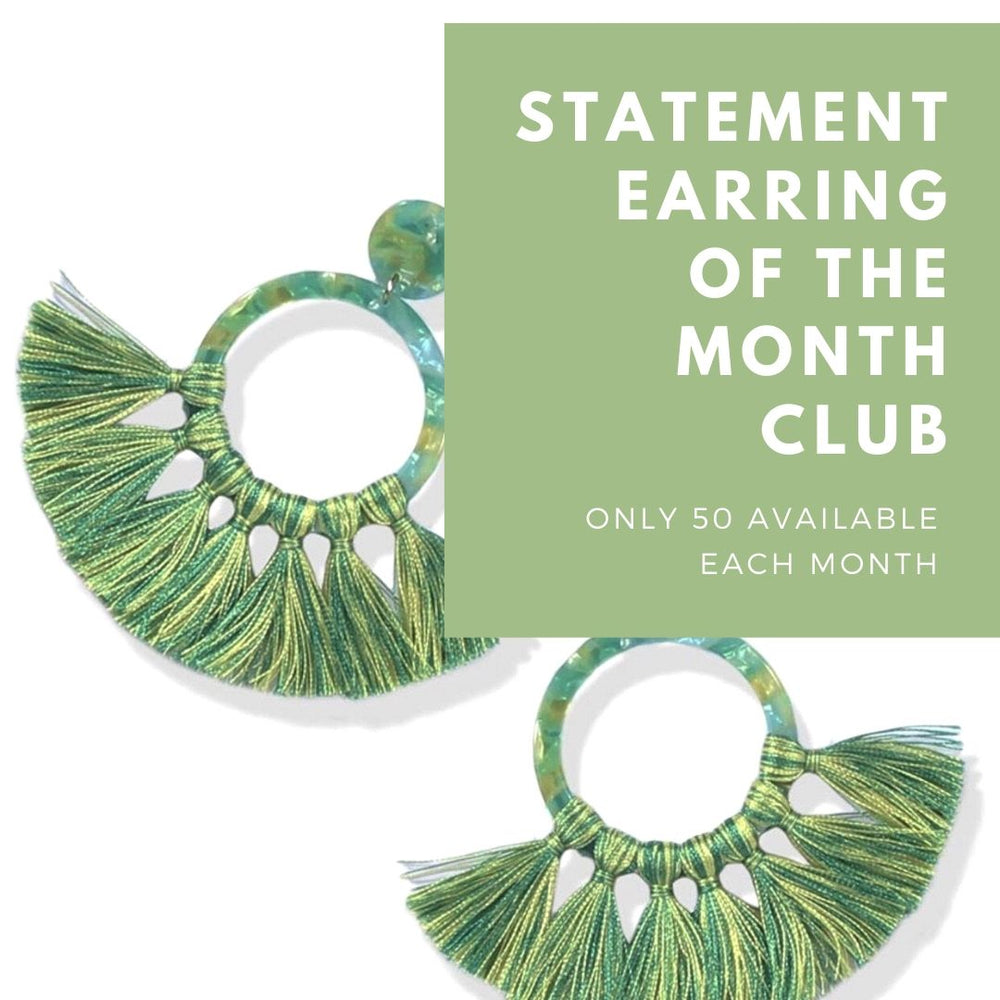 Statement Earring of the Month Club