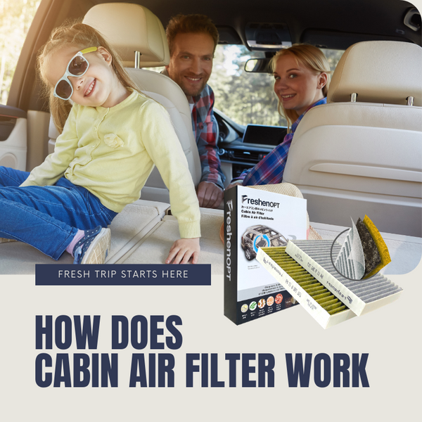 How does cabin air filter work in your car?