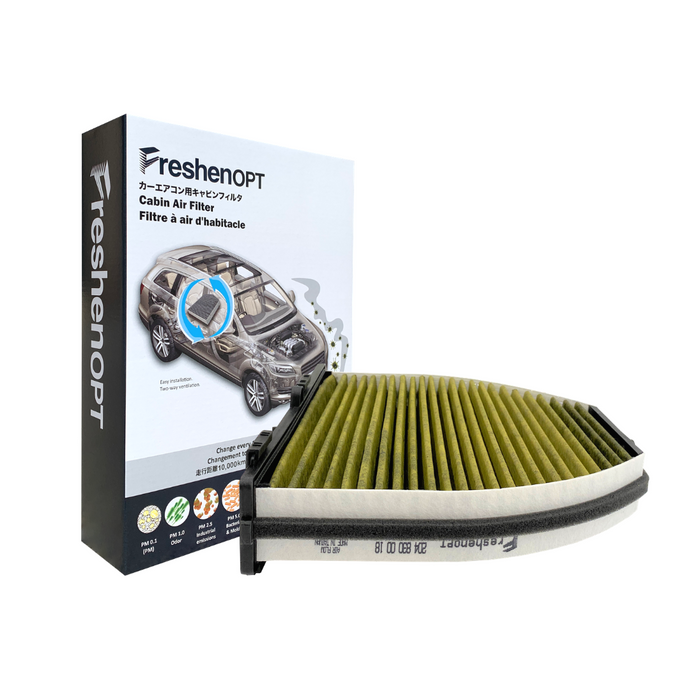 FreshenOPT I Premium Cabin Air Filter for Mercedes Benz OE#: 204 830 00 18