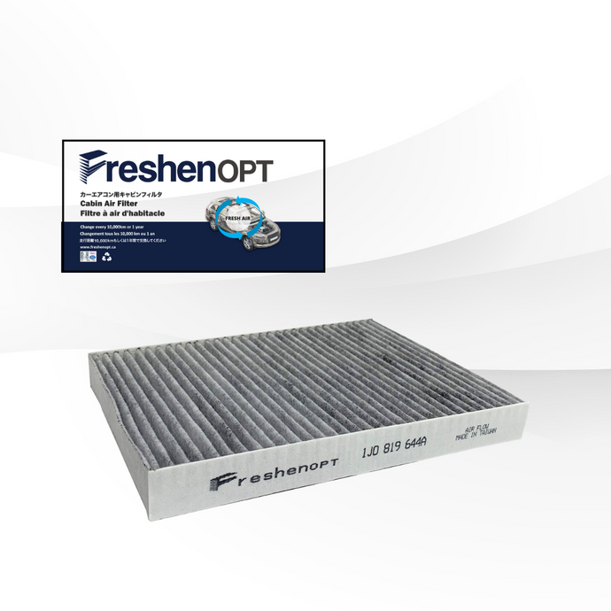 FreshenOPT premium activated carbon filter for OEM#: 1J0819644A