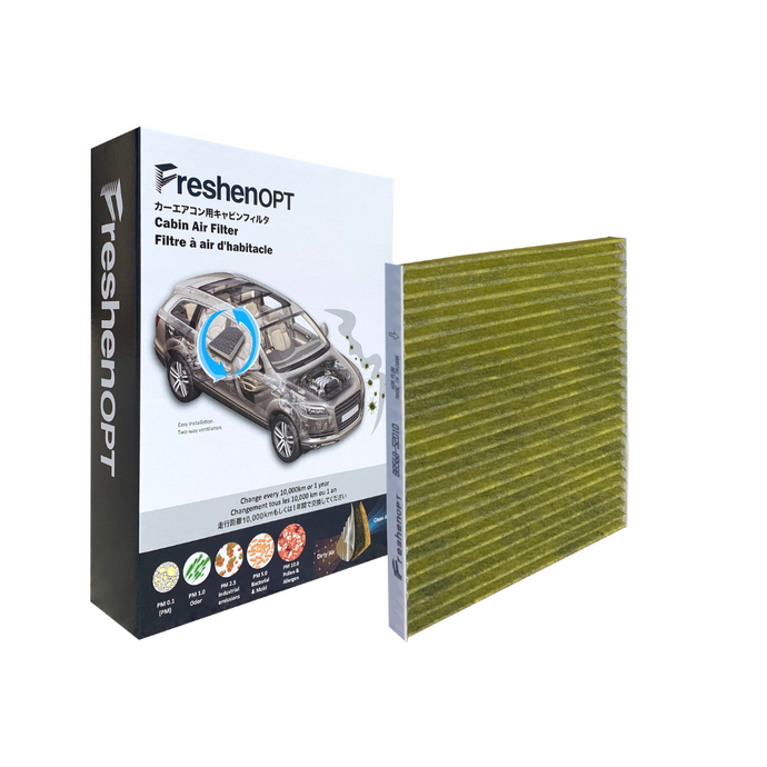 F-1125C Fresh Opt-Toyota Premium Cabin Air Filter [88568-52010] FreshenOPT Inc.