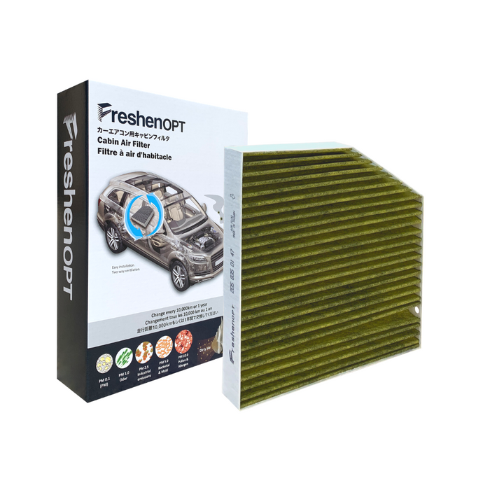 F-3186 Fresh Opt-M-Benz Premium Cabin Air Filter (Interior) [2058350147] FreshenOPT Inc.