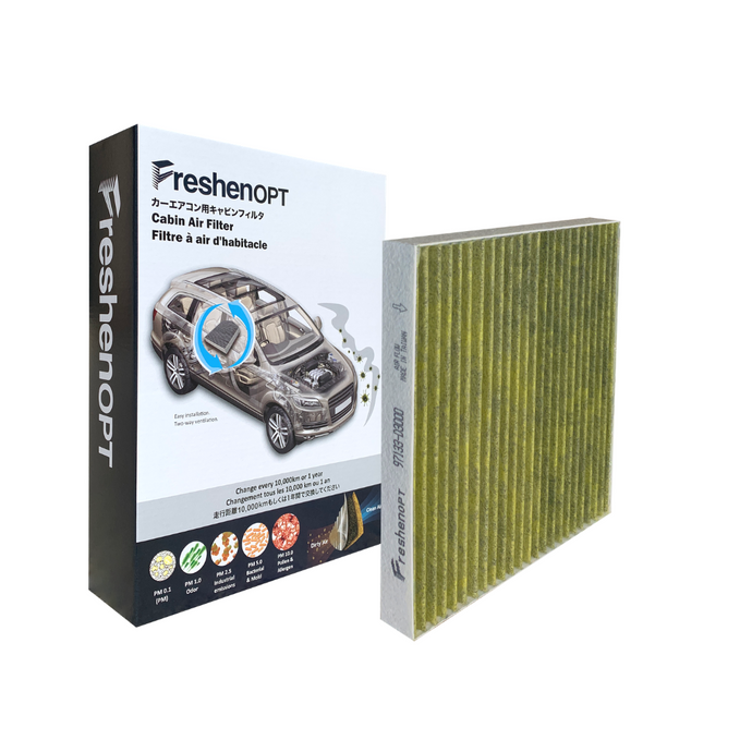 F-3204C Fresh Opt-Hyundai Premium Cabin Air Filter [97133D3000] FreshenOPT Inc.