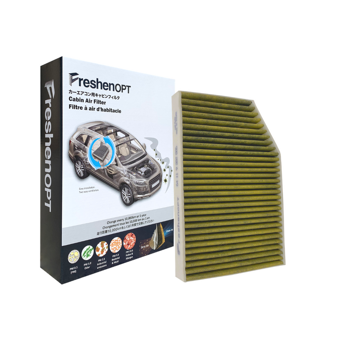 F-3227C Fresh Opt-BMW Premium Cabin Air Filter [64119382886] FreshenOPT Inc.