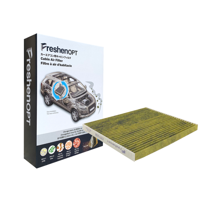 F-3233C Fresh Opt-Nissan Premium Cabin Air Filter [27277-3JC1B] FreshenOPT Inc.