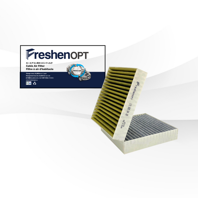 FreshenOPT premium three-layer design filter for OEM#: 171 830 04 18