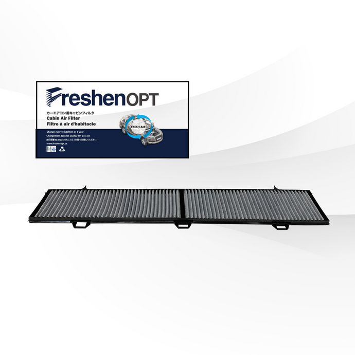 FreshenOPT premium activated carbon filter for OEM#: 64 31 6 946 628
