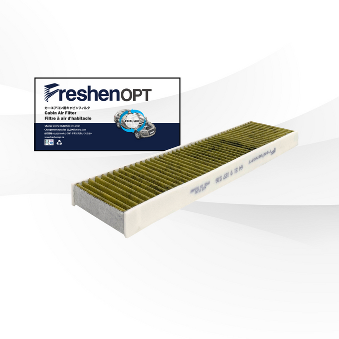 FreshenOPT premium three-layer design filter for OEM#: 64 31 9 127 516